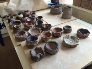 Stone age pottery project oakdene 14